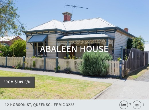 abaleen house, queenscliff point lonsdale holiday accommodation australia, beach house